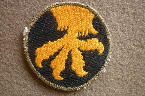 """US 17th Airborne Div """"bevo"""" style patch"""