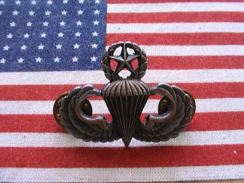 US Airborne wing variation's