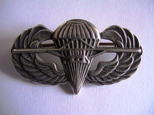 US (British made) combinded Para/Glider wing