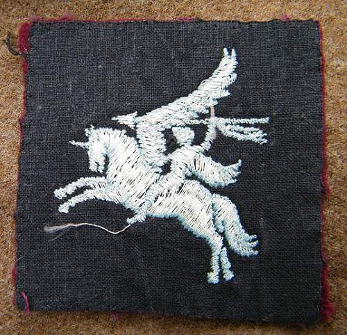 Hi opinions please on Pegasus airborne patch