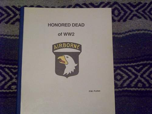 101st airborne division war dead roster of ww2