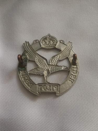 GPR Cap Badge