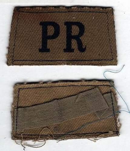 Click image for larger version.  Name:Parachute Regiment slip on titles.jpg Views:83 Size:52.5 KB ID:573441