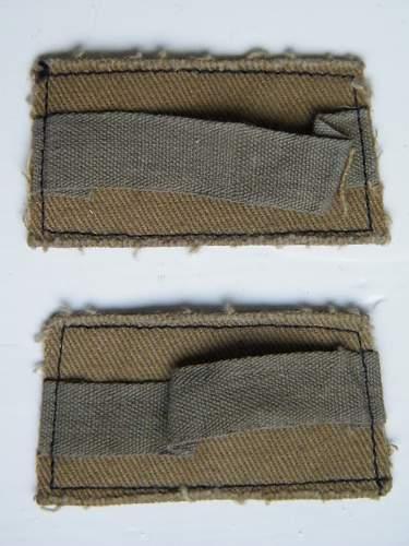 Parachute Regiment printed slip on shoulder titles