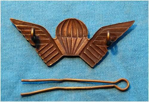 Rhodesian Selous Scouts Para Wings