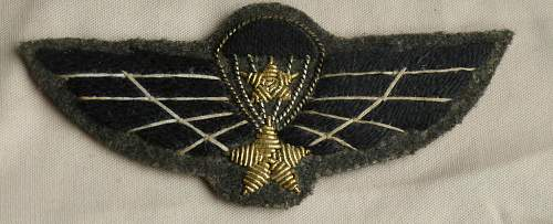 REPUBLIC OF VIETNAM  SPECIAL FORCES (Snr) DRESS WINGS Circa: 1970