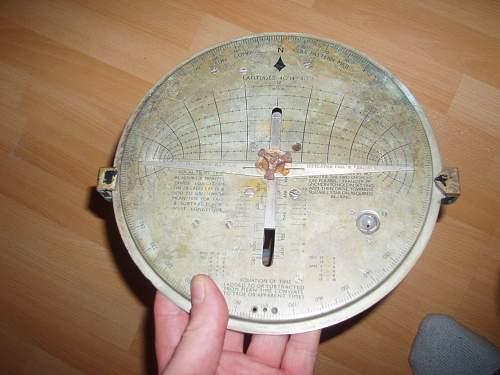 WW2 British Sun Compass used in the First Gulf war