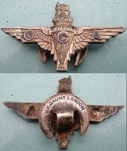 Parachute Regiment Badges