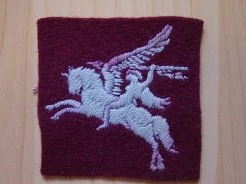 Airborne Division Pegasus formation sign