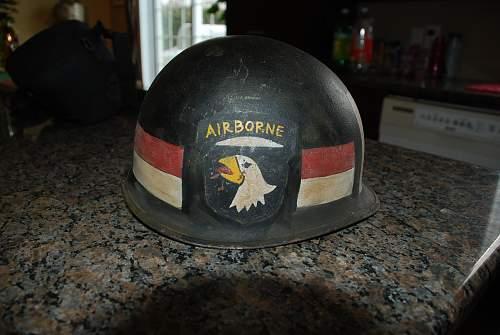 Real US M1 Helmet VietNam era?