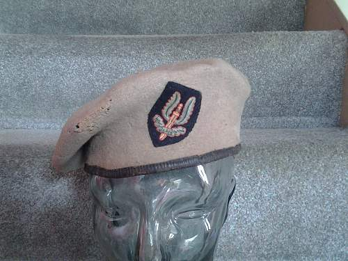 Two ww2 SAS berets and 42 dated airborne beret