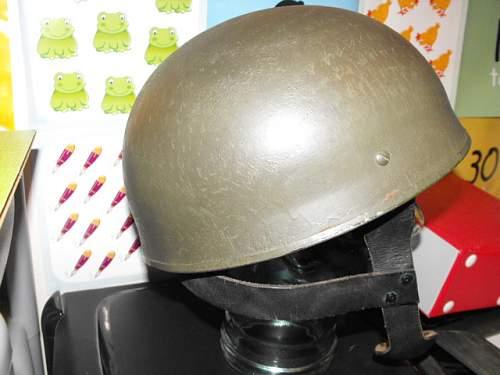 British airborne helmet