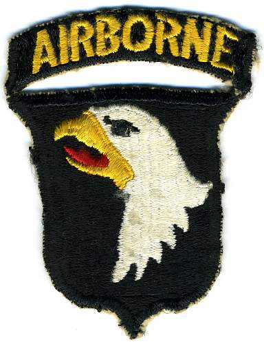 101st AB Patch
