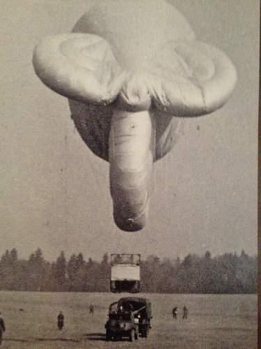This training balloon looks just like ....