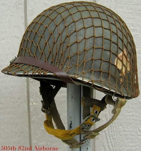 ligit M1C airborne helmet and westinghouse liner??