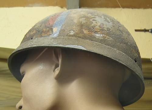 British Airborne helmet markings