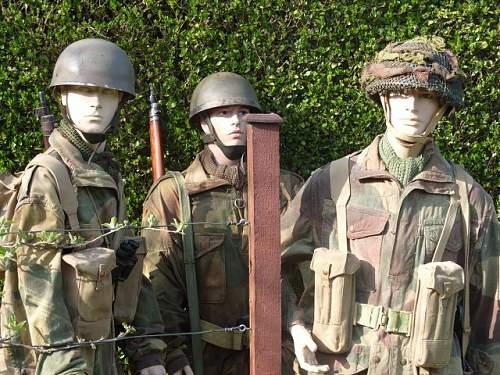 British Para's diorama