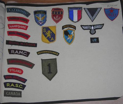 British patches anything special here?