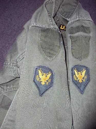 101st airborne vietnam jacket ???