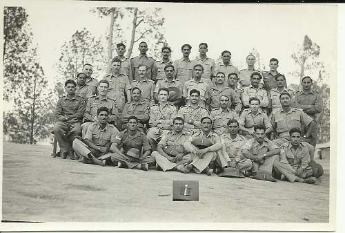 WW2 Indian Paratroopers Group Photo
