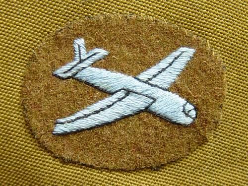 British Airborne Artillery Officers Service dress jacket