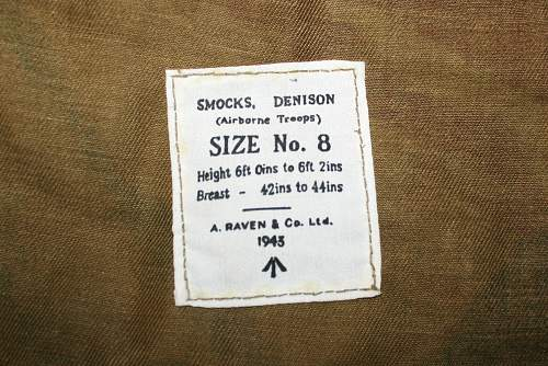 A nice early 1943 dated 2nd pattern denison