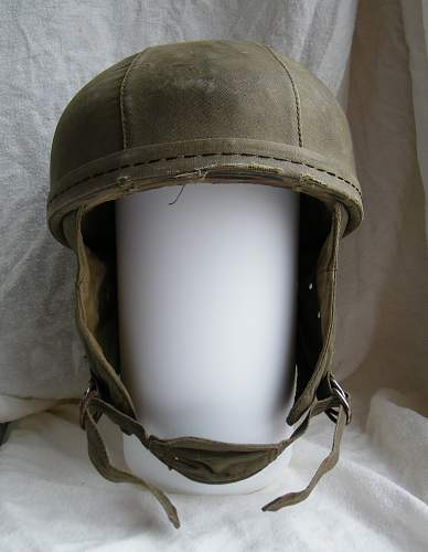 Click image for larger version.  Name:French para training helmet 1950's 1.jpg Views:322 Size:215.7 KB ID:763048