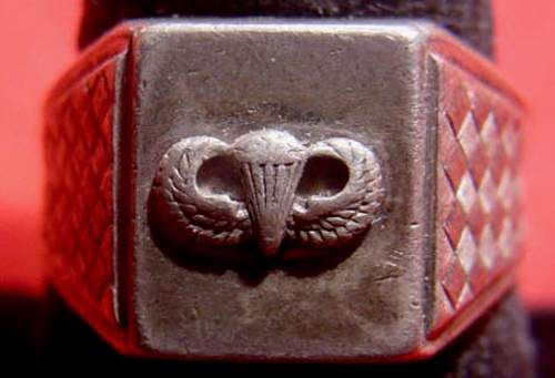 US Paratrooper's Ring