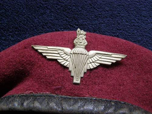 Fake maroon berets bonanza, can you spot them? Quiz time!
