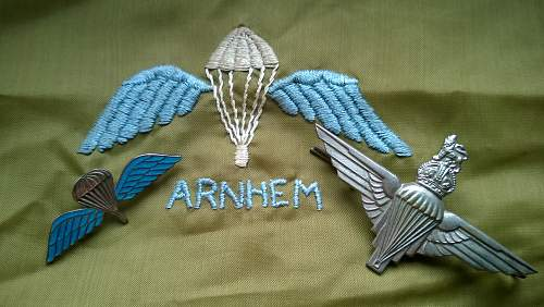 Arnhem Para grouping....