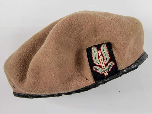 SAS beret for ID