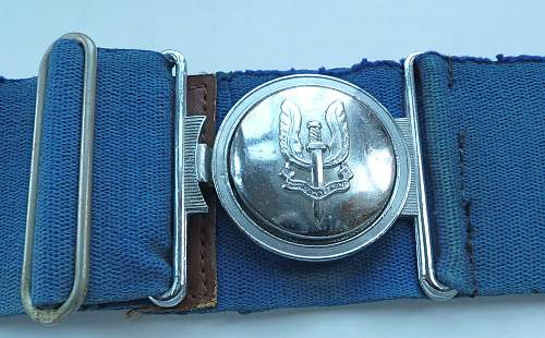 Rhodesian SAS & RLI Belts.