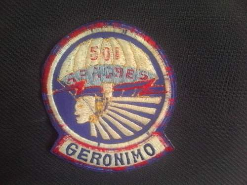 some US airborne patches