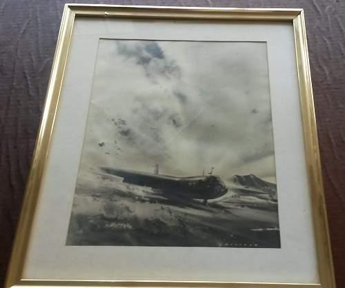 Horsa Glider by Frank Wootton