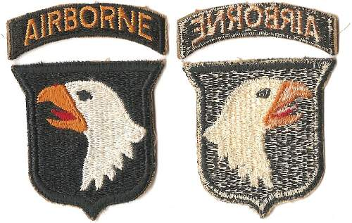 WWII 101st Airborne Grouping
