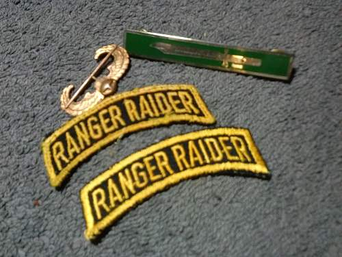 Army ranger insignia ???