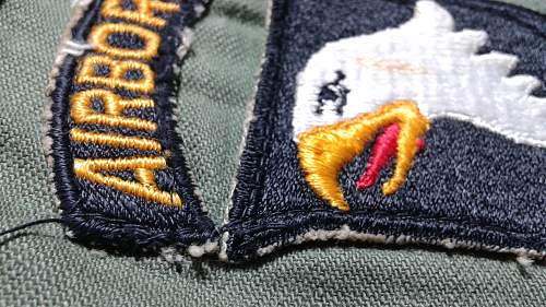 101st Airborne Patch ww2 or Post ???