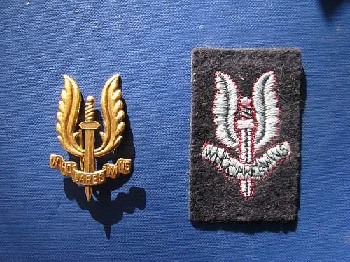 SAS beret badge