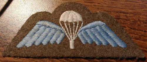 British para wing - what period?