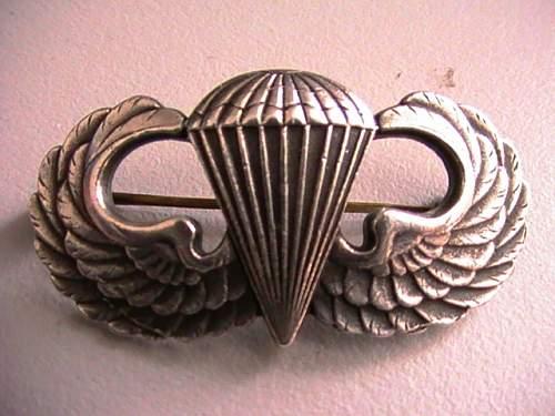 WW2 US Airborne jump wings