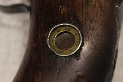 Is This an Escape Compass in my M1 Carbine Stock?