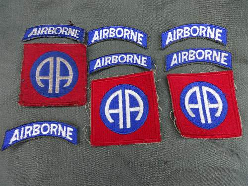 Airborne bits and pieces