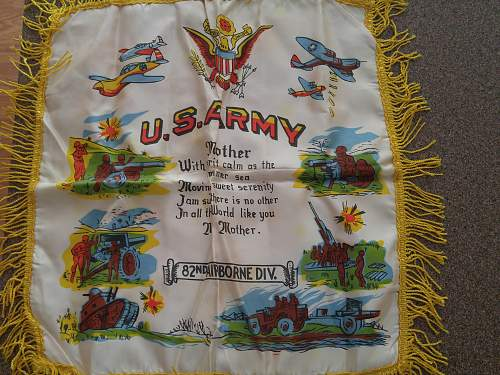 82nd. Airborne division pillow sham