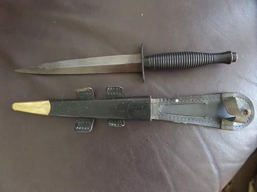 Fea market found British Army 3 pattern Commando knife