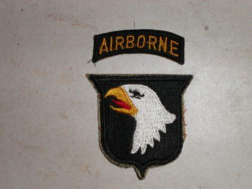 US 101st Airborne Div Screaming Eagles patch
