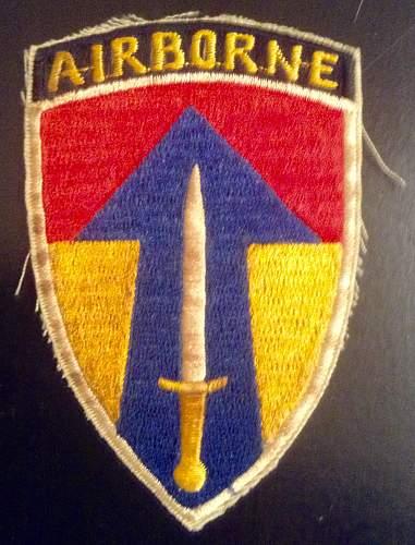Unknown Airborne Patch