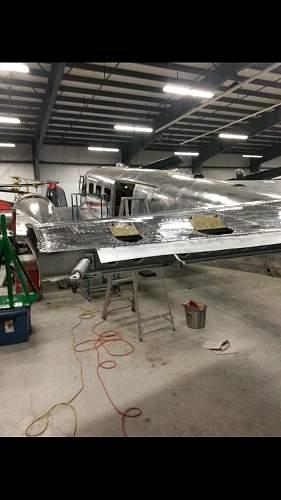 RCN Beechcraft Model 18 restoration