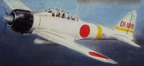 Japanese Carrier Plane Markings