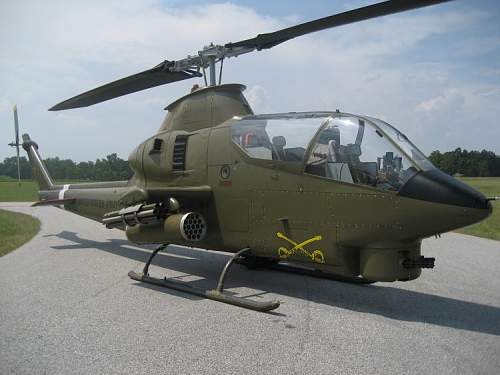 AH-1G Cobra Attack Helicopter