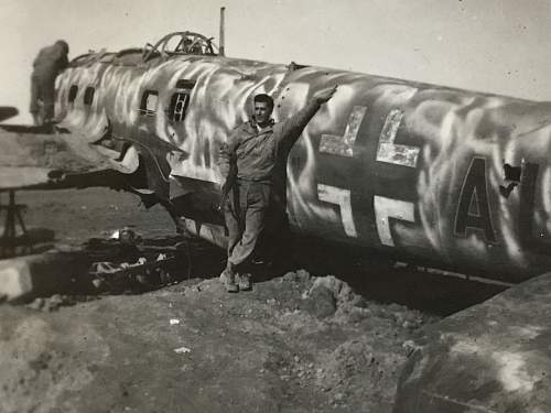 Various downed ww2 planes
